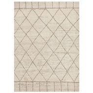 Jaipur Tangier Rug From Nostalgia Collection NS02 - Ivory/Taupe